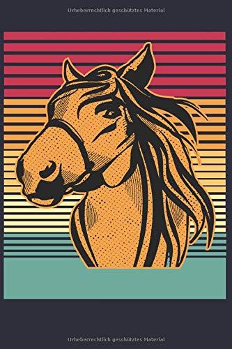 Ich liebe Pferde: Perfektes Notizbuch für alle Reiterinnen und Pferde Liebhaber