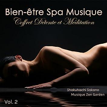 Bien-être Spa Musique, Vol.2 – Coffret Relaxation, Massage, Musique Zen Spa et Relax