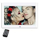 Cadres Photo numériques 10 Pouces, NeKan 1024 × 600 Haute résolution / 1080p HD...