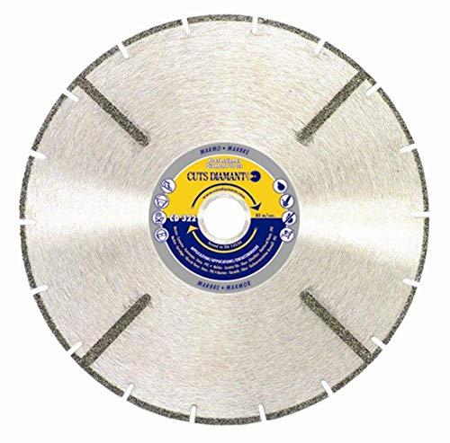 Disco diamantado para corte de mármol - Cerámica - Fibra de vidrio - PVC CD 322 Ø 230
