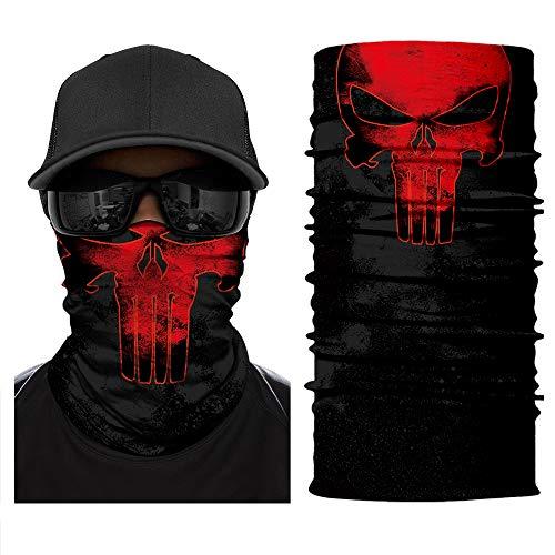 IGNB Neck Gaiter Headwear, Seamless Bandana Tube Sun Face Mask, Headband Bandana for Men Women Dust Outdoor Camping Hiking Fishing Running (4)