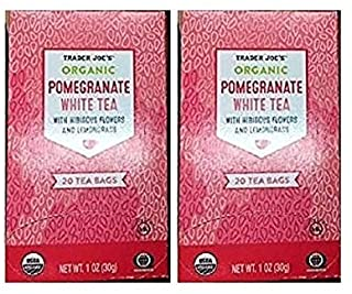 Pomegranate White Tea (2 Pack)