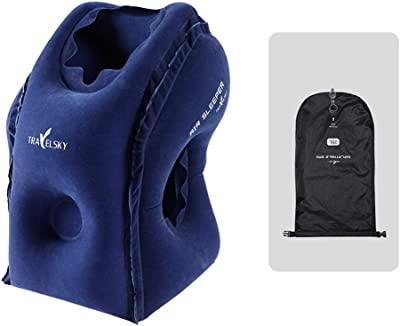 Amazon.com: Almohadas de viaje inflables portátiles RaMopet ...