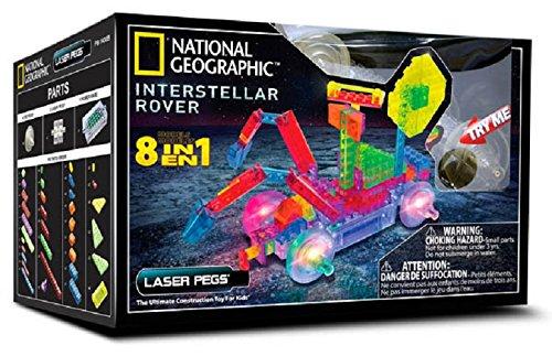 Laser Pegs 50414396 National Geographic Interstellar Rover Kit