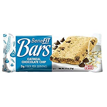 Readi Bake BeneFIT Oatmeal Chocolate Chip Cookies -- 48 per case.