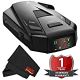 Cobra Rad250 Rad 250 Radar/Laser Detector with 2 Year Warranty