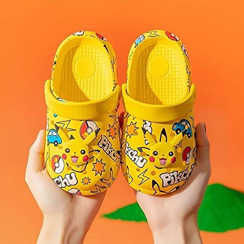 Perferct Zapatillas de casa para Mujer Baratas,Zapatillas de Paquete Infantil PIKU, Hombres y bebés EVA Inicio Lindo Baño de Playa Sandalias-140 Yardas (13 cm de Longitud)_A