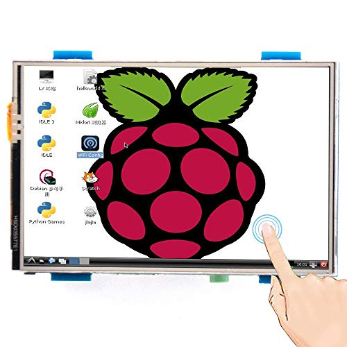 Padarsey for Raspberry PI 3 Generation TFT Touch Screen 3.5 inch TFT LCD Display Monitor Support All Raspberry PI System, Video Movie Play, Arcade Game, HDMI Audio Input SC6A