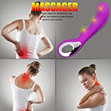 Rechargeable Hand Held Full Body Massagers Offers Multiple Speeds for Leg, Calf Pain Relief Improve Blood Circulation