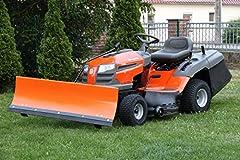 Snösköld FÖR gräsmatta traktor Husqvarna 120×40 inkl lås