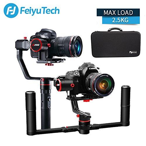 FeiyuTech a2000 - Estabilizador de cámaras réflex Digitales para Canon Sony Panasonic 2500 g VS Crane 2