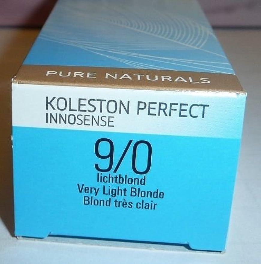 コレクション精神医学ラグWella Koleston Perfect INNOSENSE Hair Color Very Light Blonde 9/0 2 oz by Wella [並行輸入品]