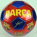FCB FC Barcelona - Balón f.c. Barcelona con Escudo y firmas...