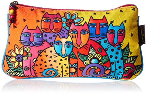 Laurel Burch Laurel Burch Kosmetiktasche Set, Feline Clan, 3er Pack