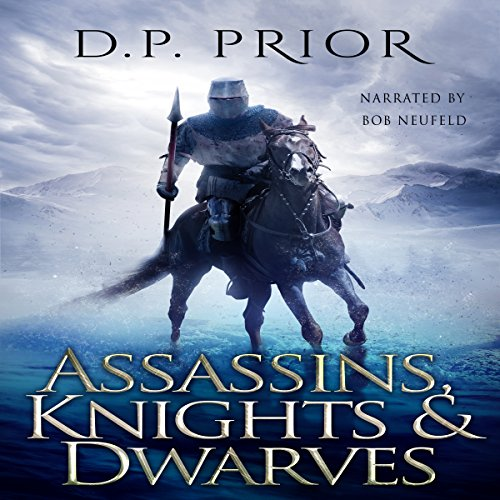Assassins, Knights, & Dwarves audiobook cover art