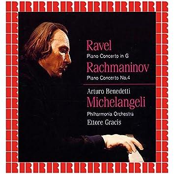 Ravel Piano Concerto In G, Rachmaninov Piano Concerto No. 4 (Hd Remastered Edition)