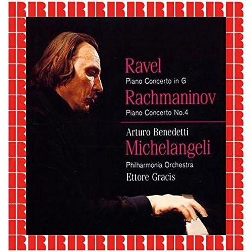 Arturo Benedetti Michelangeli, The Ettore Gracis Philarmonia Orchestra