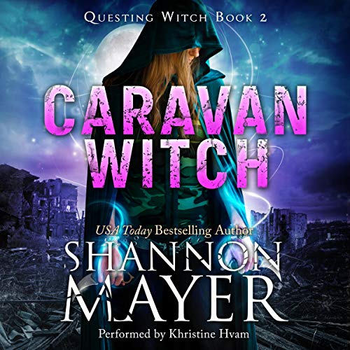 Caravan Witch audiobook cover art