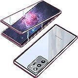 MOSSTAR Funda Cristal Templado para Samsung Galaxy Note 20 U