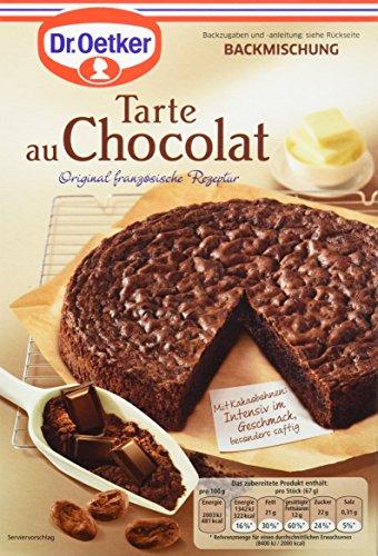 Dr. Oetker Tarte Au Chocolat, 4er Pack (4 x 470 g)