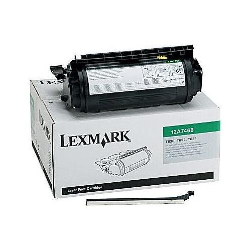 12A7468 Lexmark T632 Tonerkartusche Schwarz