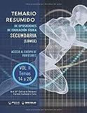Temario Resumido de oposiciones de Educación Física Secundaria (LOMCE) Volumen II: Acceso al cuerpo de profesores de Enseñanza Secundaria