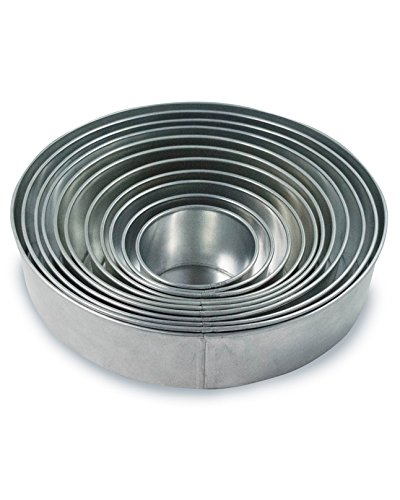 Set of 11 Tier Round Multilayer Birthday/Wedding Anniversary Cake Tins/Cake Pans/Cake Moulds 4'-14' (all 3' deep)