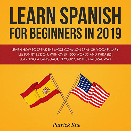 Page de couverture de Learn Spanish for Beginners in 2019