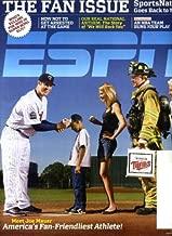 ESPN February 8 2010 Joe Mauer/Minnesota Twins on Cover, Athletes' First Crush, Ken Griffey Jr/Seattle Mariners, Jamal Crawford/Atlanta Hawks, Saiku Koivu/Anaheim Ducks