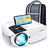 VANKYO Leisure 510PW Native 1080P Projector, 7600LUX 5G WiFi Projector with Built-in Office Software, Portable Movie Projector with ±60° 4D Keystone/Zoom Function, Compatible w/TV Stick, HDMI, PS4