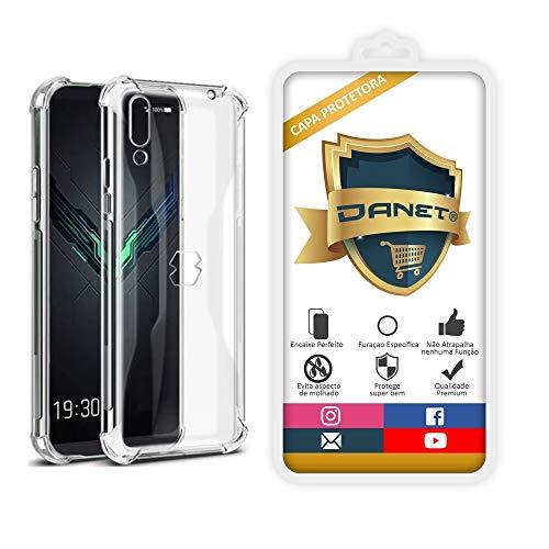 Capa Protetora Para Xiaomi Black Shark 2 Pro com Tela de 6.39 Polegadas Capinha Case Transparente Air Anti Impacto Proteção De Silicone Flexível - Danet