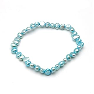 WTPUNGB Natural Pearl Bracelet For Women Multi Color Freshwater Pearl Bracelet Jewelry Gift