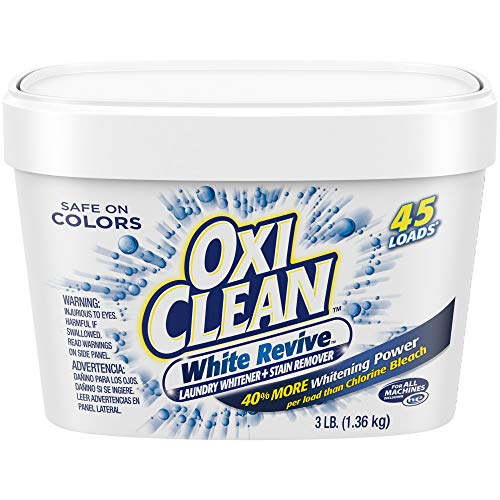 OxiClean White Revive Laundry Whitener  Stain Remover 3 Pound