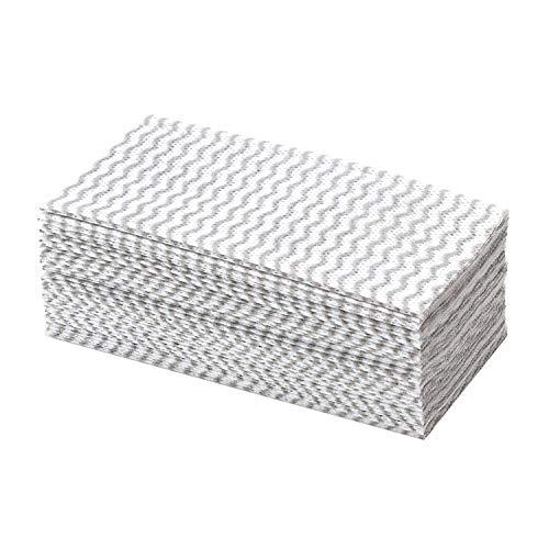 ストリックスデザイン テーブルダスター グレー 約20×30cm 繰り返し洗って使える 不織布 ふきん 箱入り SA-135 20枚入