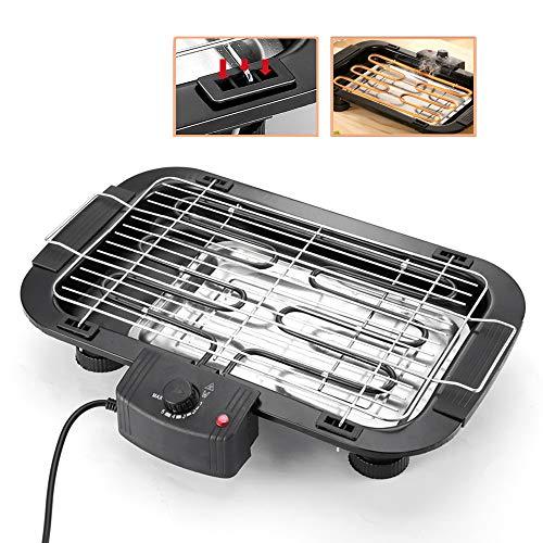 Barbacoa Eléctrica, Para Cocinar Queso Control De Calor Termostático Ajustable Superficie De...