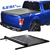 Soft Roll Up Truck Bed Tonneau Cover For 2017-2020 F-ord Superduty SD 6.8'/81' Bed with Lock