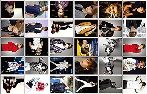 YCYY 30 Cajas de Postales de Justin Bieber de impresión