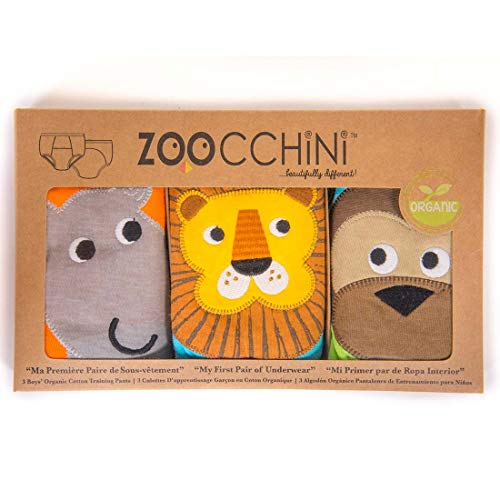 Zoocchini Safari Trainers für Jungen 2–3Jahre