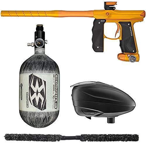 Action Village Empire Mini GS TP Contender Paintball Gun Package Kit (Dust Gold/Dust Orange, Tank Size: 68/4500)