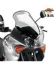 Givi KD215S Parabrisas Ahumado para Honda XL 125V Varadero 01 > 06, 49.9 x 33.2 cm
