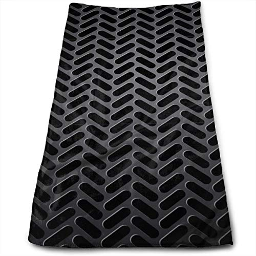 DDHHFJ Hand Towels Iron Plate Highly Absorbent Quick-Dry Towels for Kitchen Gym and SPA 12' X 27.5'