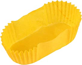 Baking Cup Oval Cake Paper Tray Boat Shape Paper Cups High Temperature Cake Cup Bread Baking Cups Safe Grease Proof Cupcak...