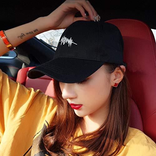 Sombrero Femenino de Verano de Moda Coreana Gorra de béisbol Masculina desamor Protector Solar de Verano sombrilla Protector Solar Salvaje Sombrero para el Sol
