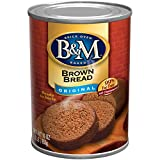 B&M Brown Bread, Original Flavor, 1 Pound (Pack of 12)