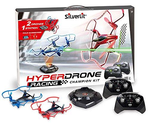 Exost 84775 Hyperdrone Champion Kit Drone Racing, Mehrfarbig
