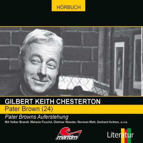 Pater Browns Auferstehung audiobook cover art