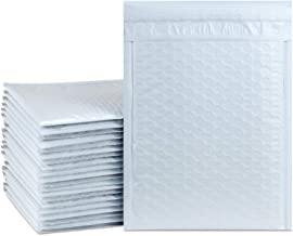 UCGOU 7.25x12 Inch White Padded Envelopes Water Proof Poly Bubble Mailers Self Seal Mailing Envelopes 25pcs