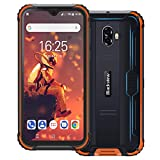 Blackview BV5900 (2019) IP69K Outdoor Handy Ohne Vertrag 5,7 Zoll HD+ Waterdrop Display Android 9.0 13MP+5MP Kameras 5580mAh Akku Helio A22 3GB+32GB 4G Robustes Smartphone (Orange)