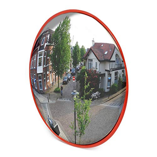 Wiltec Specchio parabolico per Interno Garage Specchio di sorveglianza Convesso 45cm