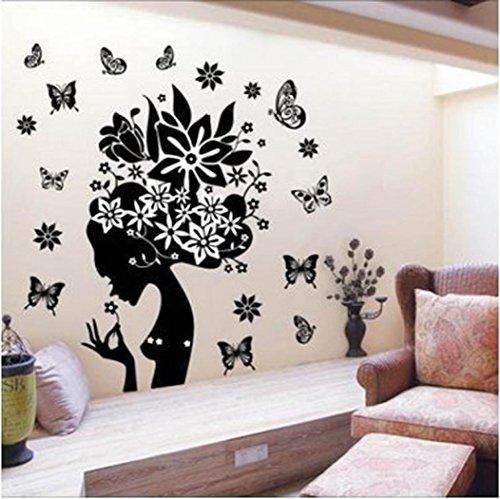 Wall Sticker, DDLBiz Adesivi Murales, Carta da Pareti'farfalla' Decorazione Murali da Parete
